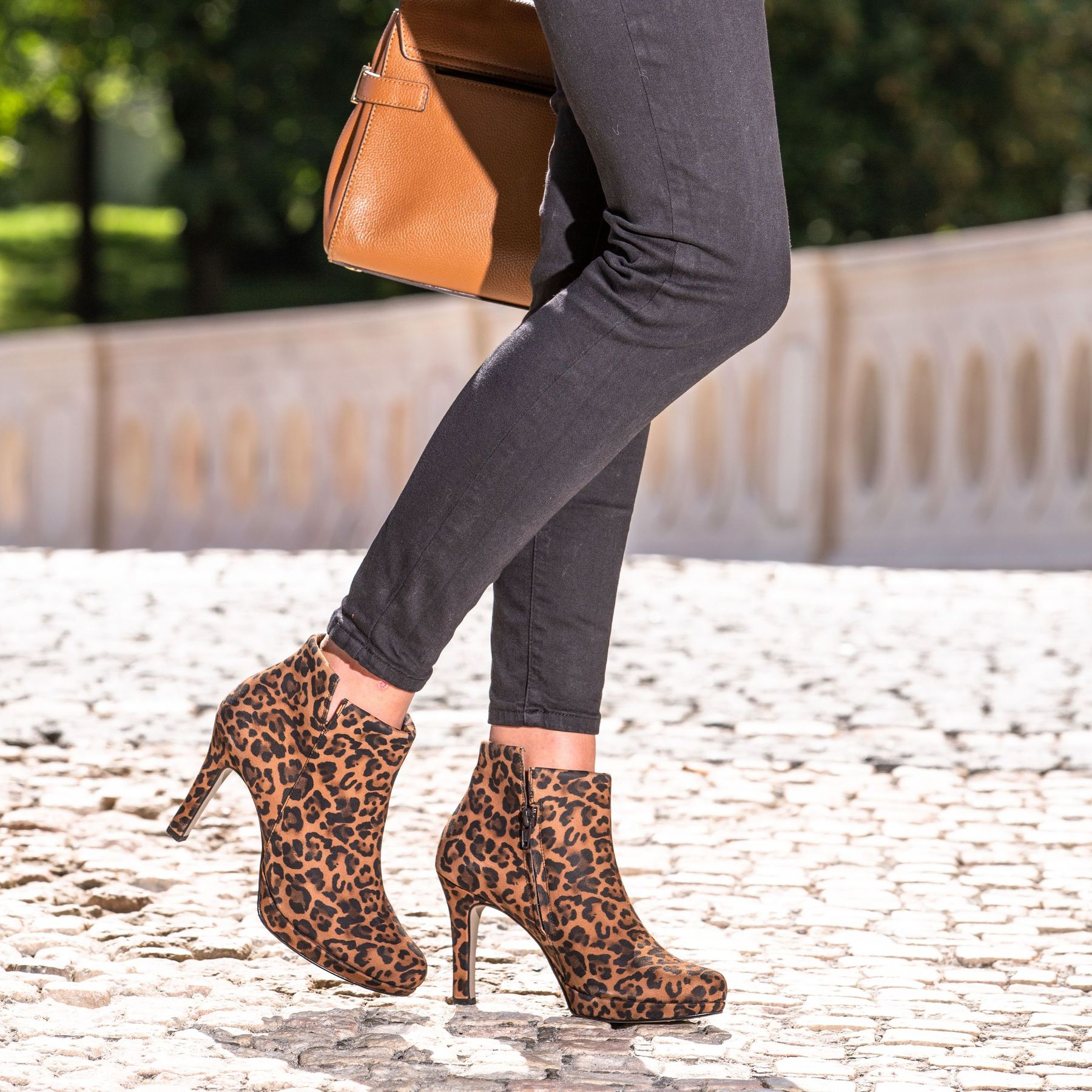 SUPER SOFT ankle boots in leopard look Paul Green