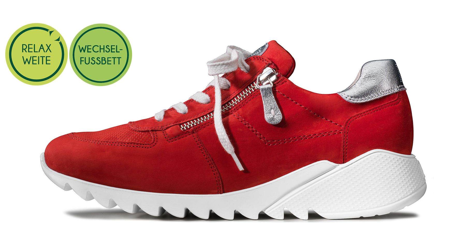 Women's Relax sneakers, red Paul Green