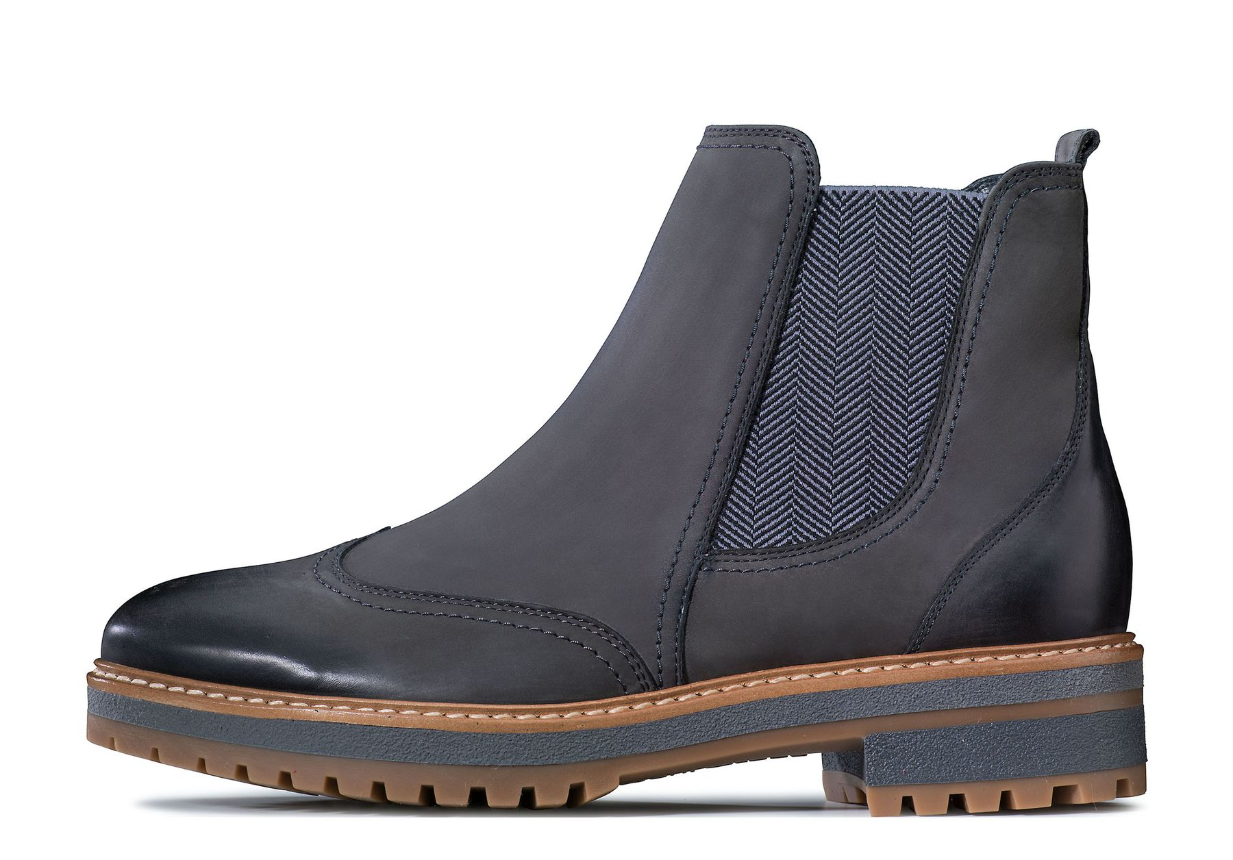 huge discount c1565 2e318 Manually crafted Chelsea Boots in gery - Paul Green