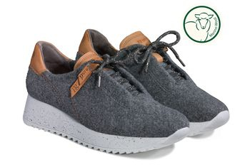PG PURE sneakers with warm merino lining