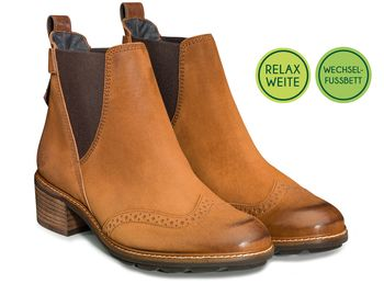 Chelsea boots with RELAX WIDTH