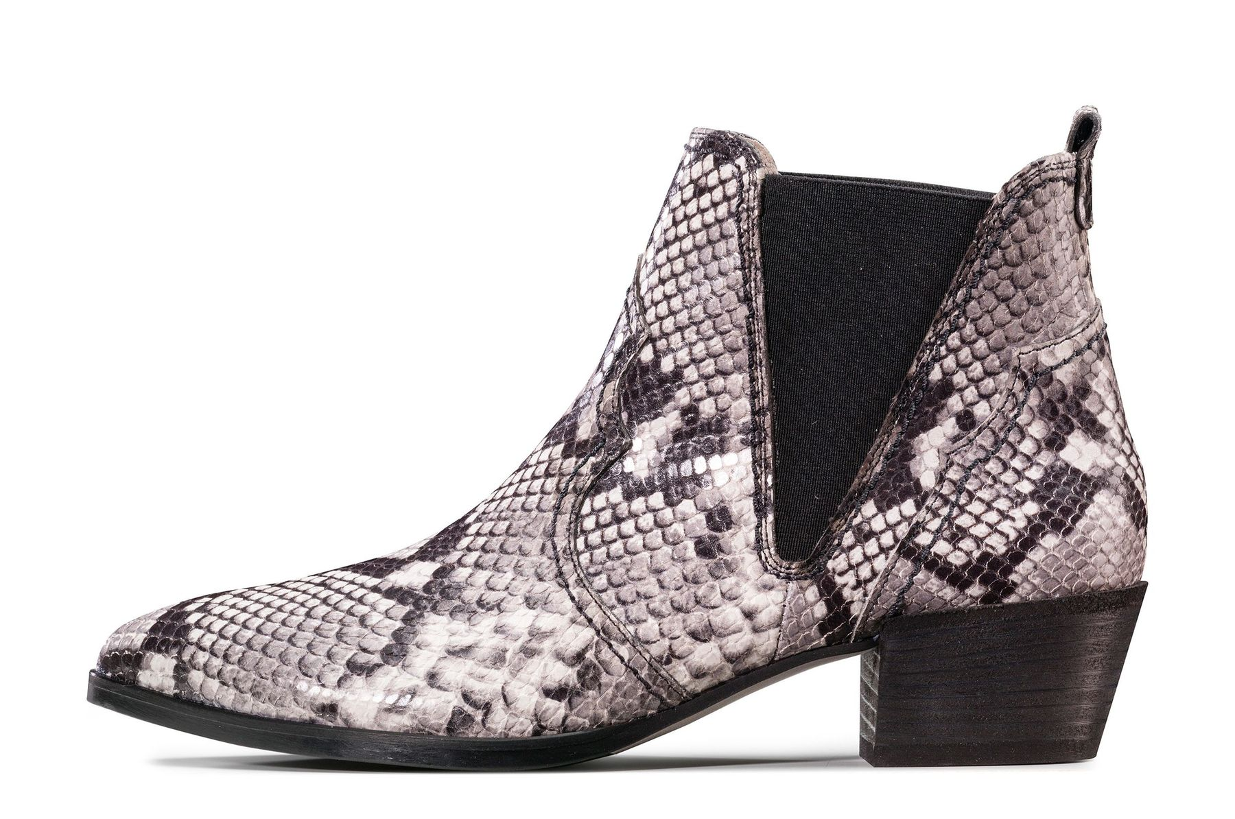 Snake Print Ankle Boots Paul Green