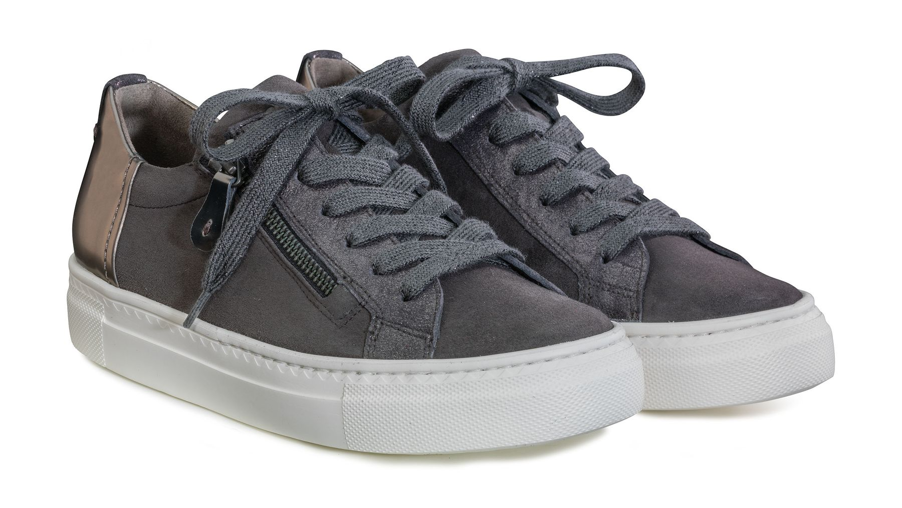 official photos b6477 a7414 Plateau-sneakers in grey - Paul Green