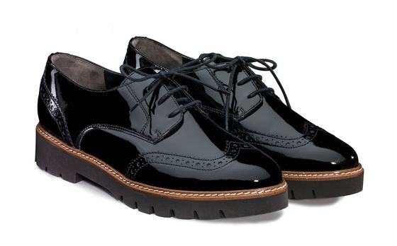 Lace-ups with RELAX WIDTH