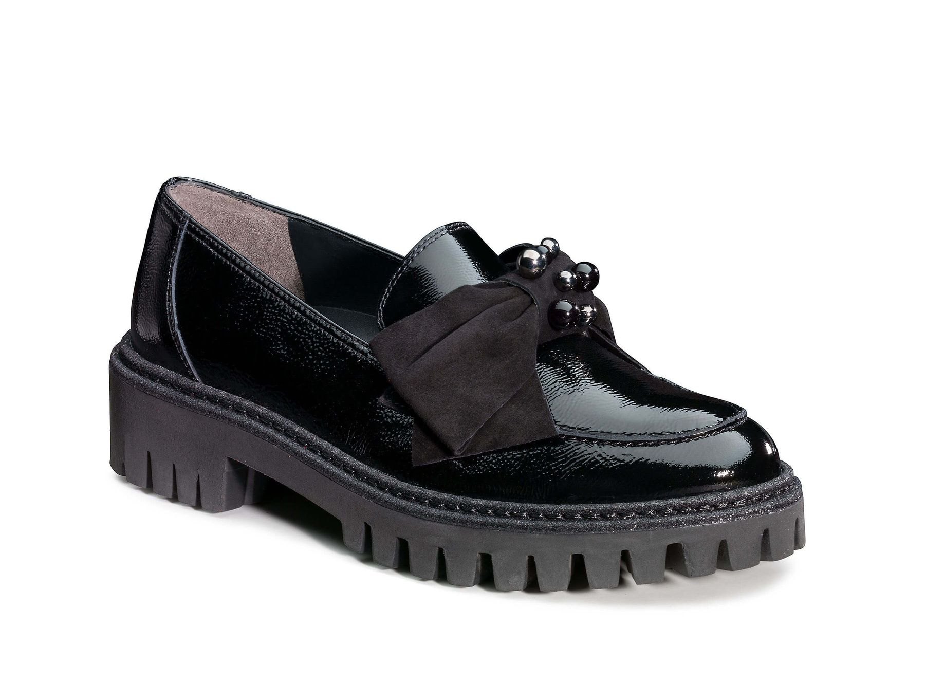style conscious loafers in black paul green. Black Bedroom Furniture Sets. Home Design Ideas