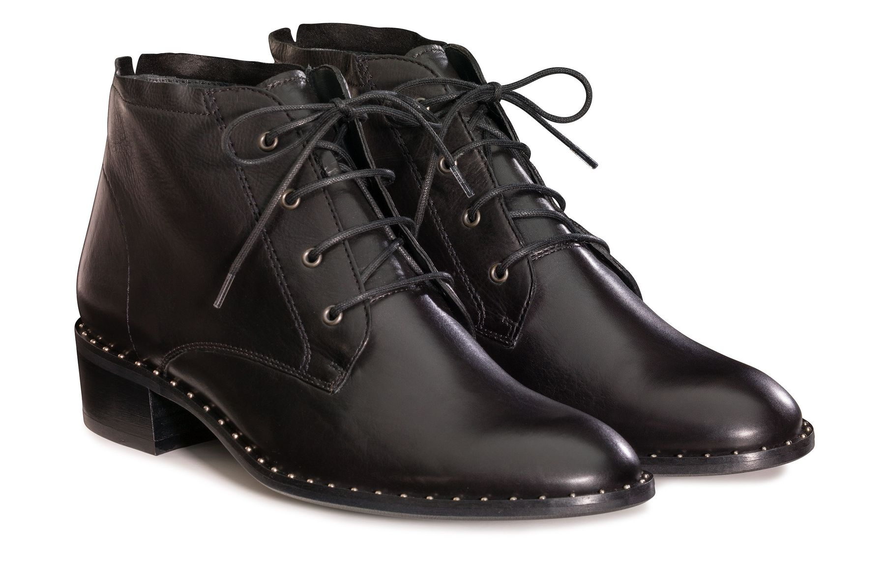 8486c3fe5f3 Grand Lace-up Boots in Black - Paul Green