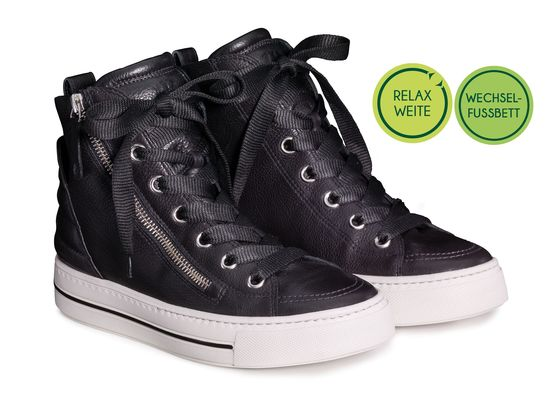 SUPER Soft high-top Pauls in RELAXED WIDTHS