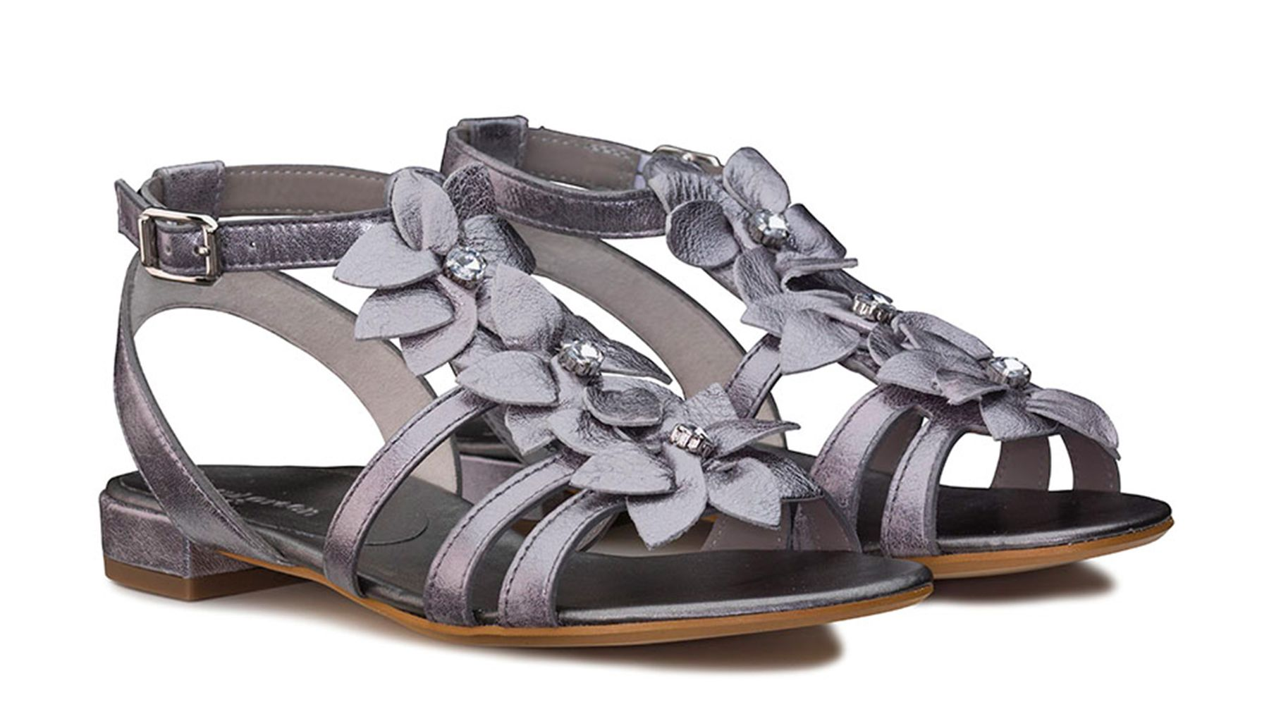 284010519f6 Playful Sandals with Flowers - Paul Green