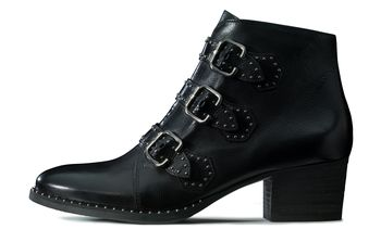 Casual Rocker Ankle Boots