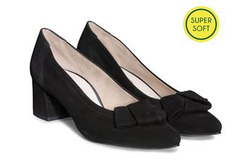 SUPER SOFT Pumps with bow