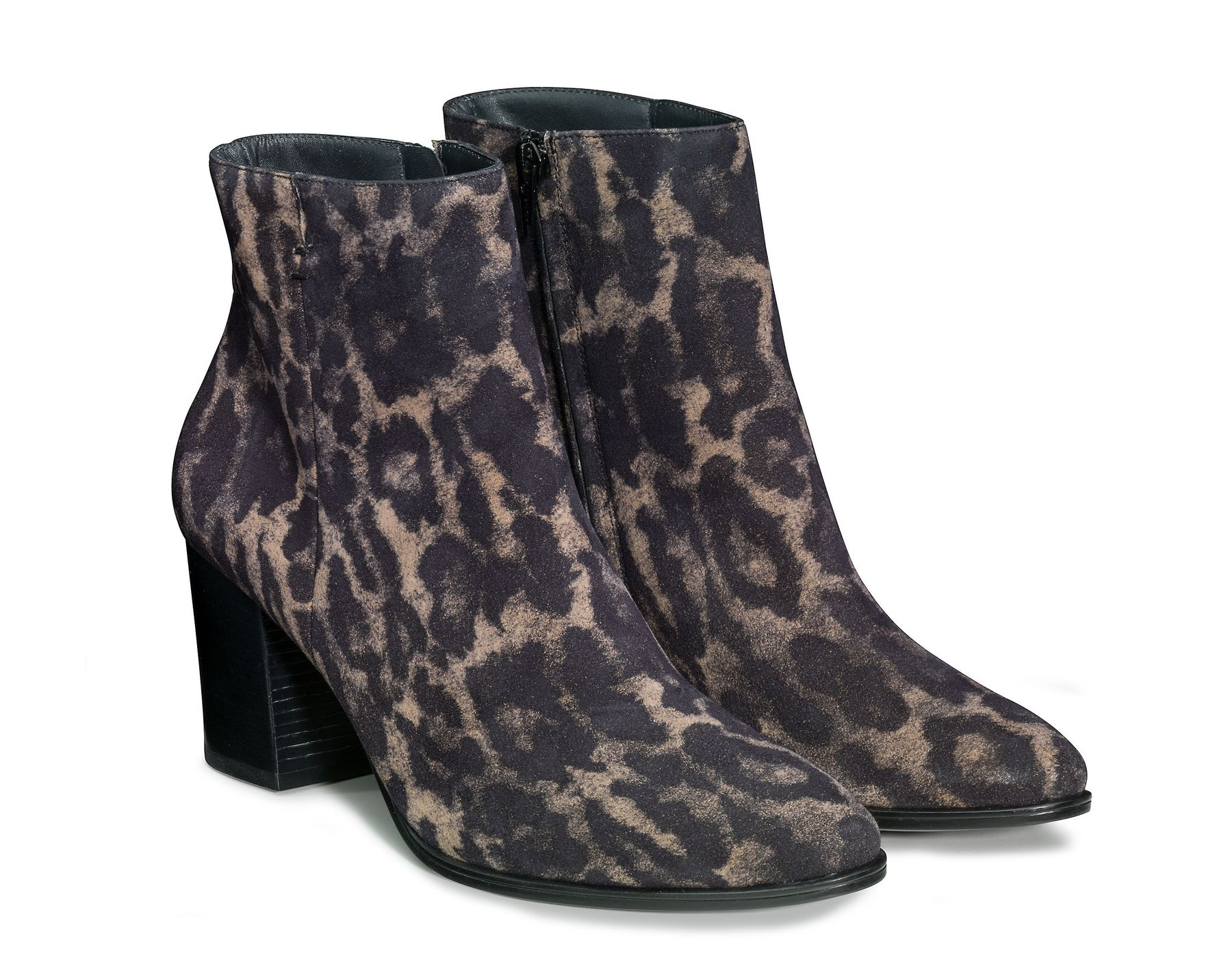 SUPER SOFT ankle boots in black beige Paul Green