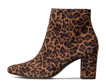 Animal-Print Stiefelette