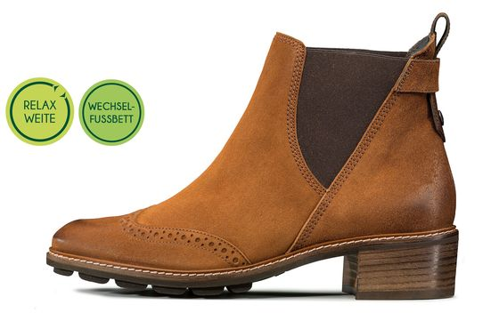 Chelsea-Boots mit RELAX-WEITE