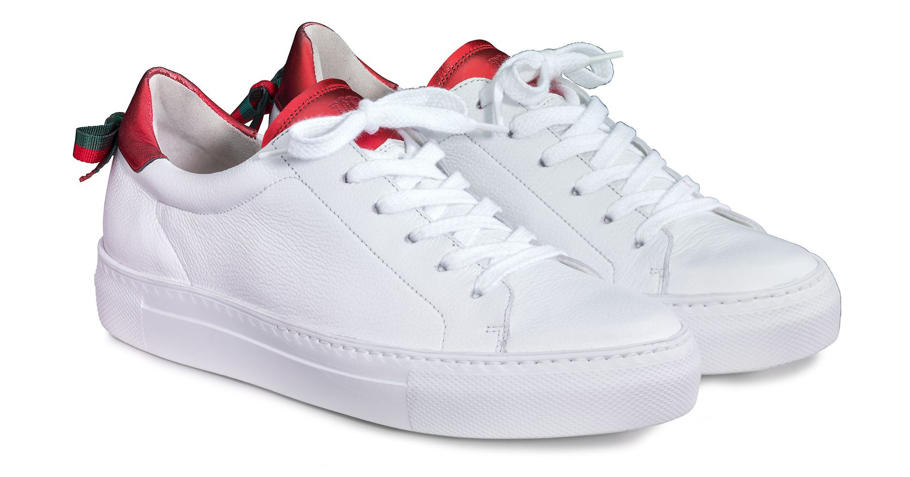 sold worldwide official supplier classic styles Pauls, white with metallic details - Paul Green