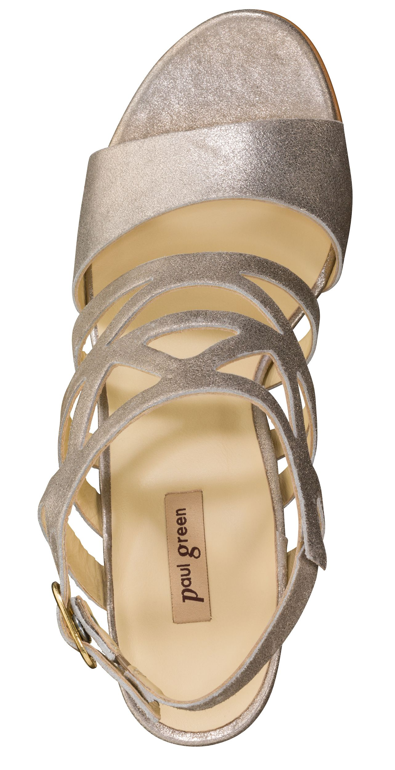 outlet store ddd83 a435b Glamorous Sandals in Champagne - Paul Green