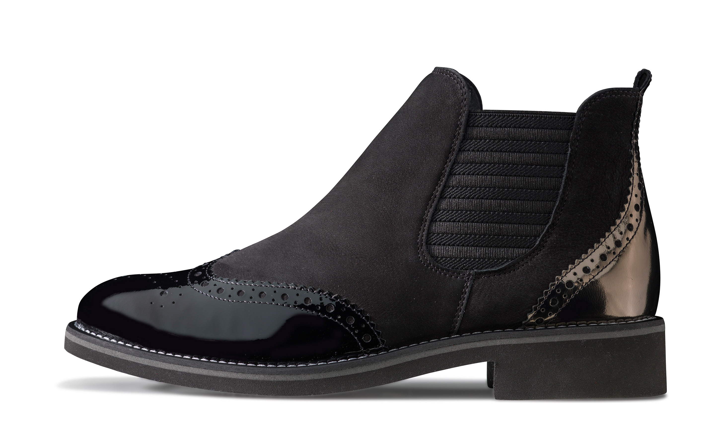 chelsea boot in black paul green. Black Bedroom Furniture Sets. Home Design Ideas