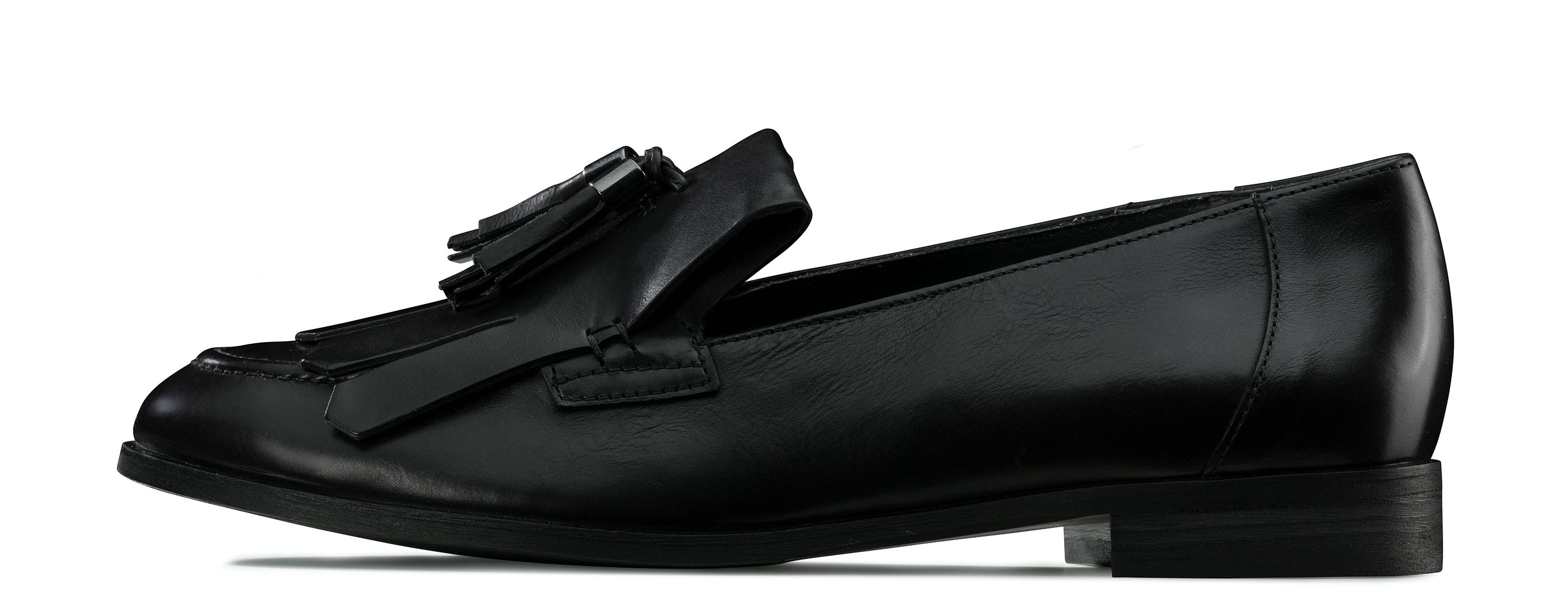 hochwertiger tassel loafer in schwarz paul green. Black Bedroom Furniture Sets. Home Design Ideas
