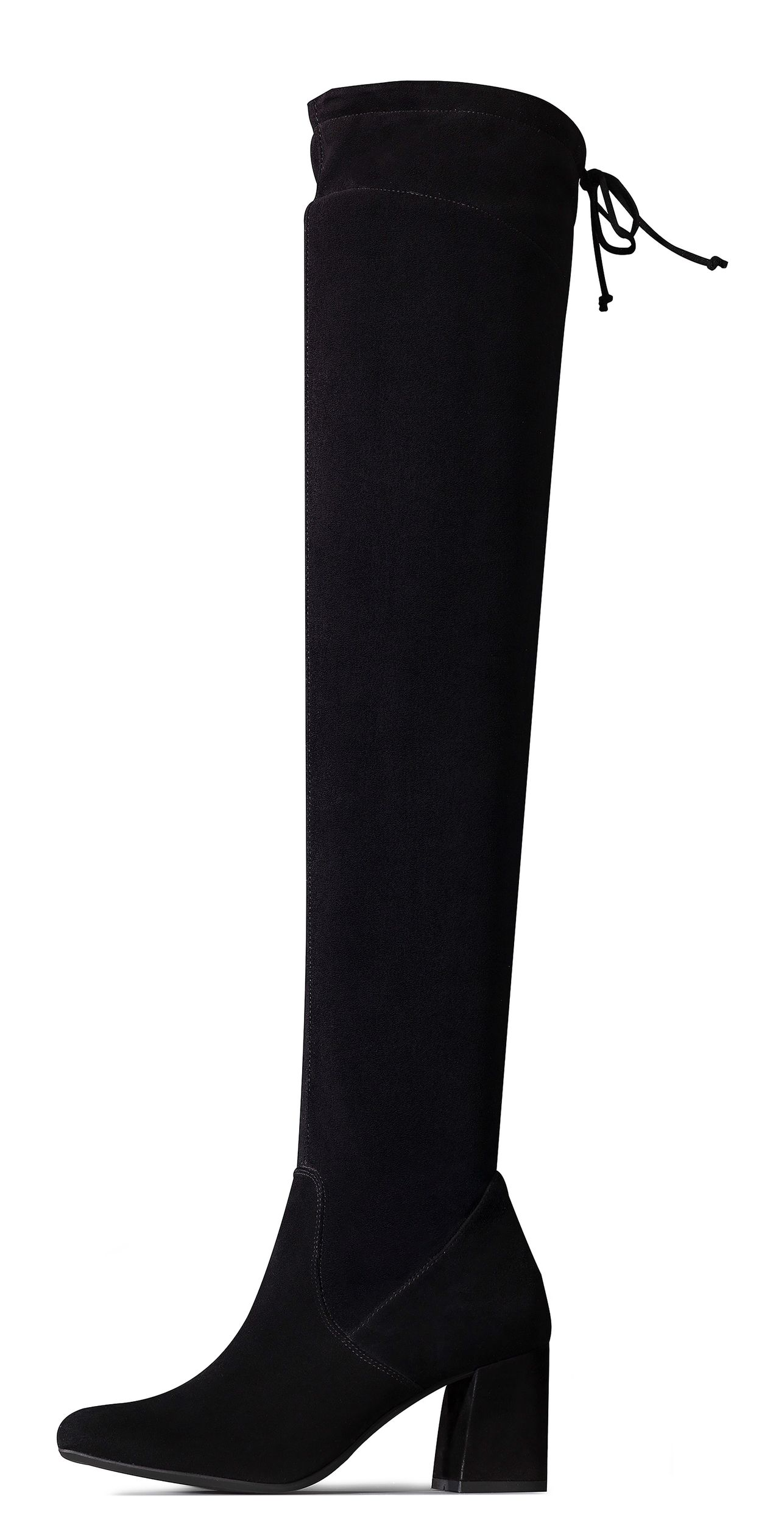 brillant over knee boots in black paul green. Black Bedroom Furniture Sets. Home Design Ideas