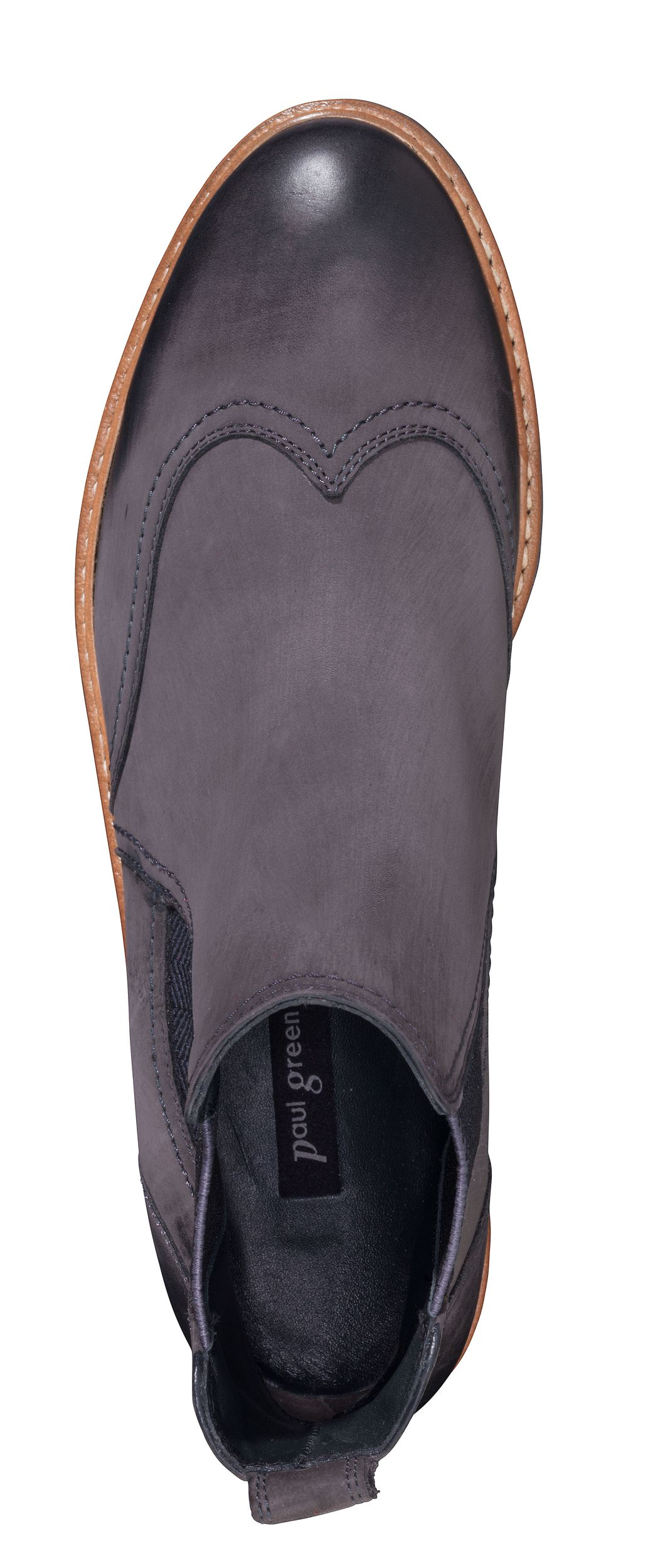 huge discount 47c70 bb1db Manually crafted Chelsea Boots in gery - Paul Green